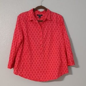 Land's End Bright Pink Top 16P